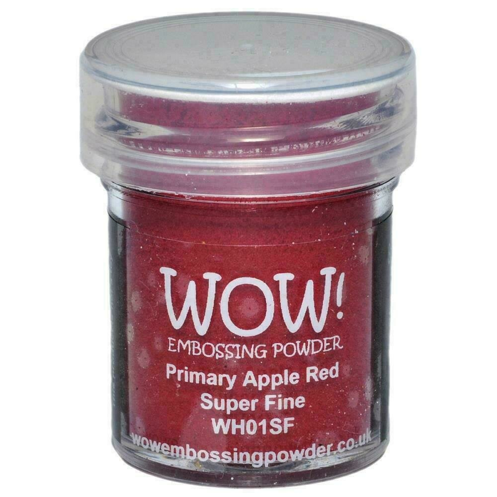 WOW! Embossing Powder Super Fine 15ml Primary Apple Red