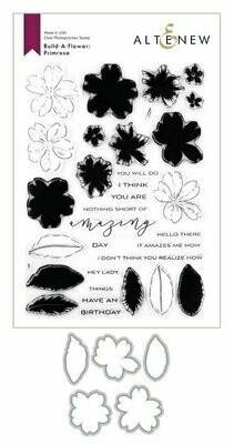 Altenew Build-A-Flower Primrose Layering Stamp & Die Set