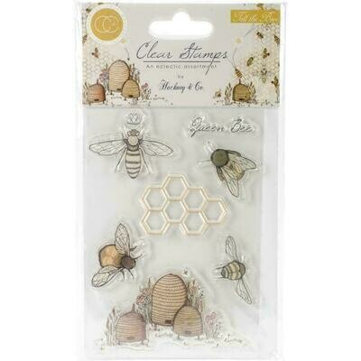 Tell The Bees by Craft Consortium A5 Clear Stamps