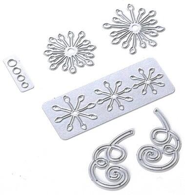 Elizabeth Craft Metal Die-Stamen Flowers