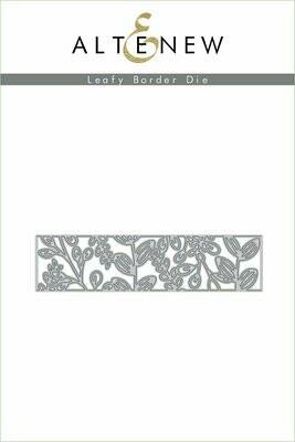 Leafy Border Die