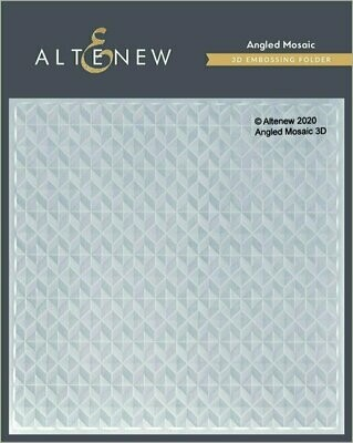 Angled Mosaic 3D Embossing Folder by Altenew