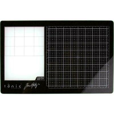 Tim Holtz - Travel Glass Media Mat -LEFT HANDED