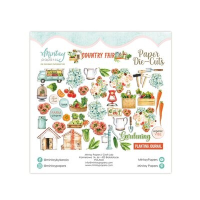 Mintay Papers Country Fair Paper Die Cuts
