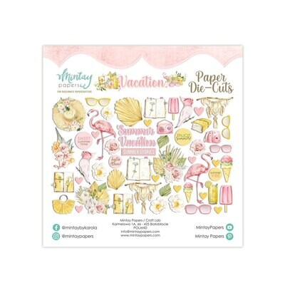 Mintay Paers Vacation Paper Die Cuts