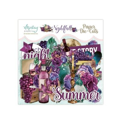 Mintay Papers Nightfall Paper Die Cuts