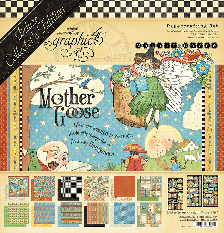Graphic 45 Mother Goose Deluxe Collectors Edition