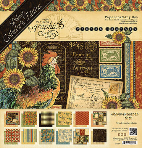 Graphic 45 French Country Deluxe Collectors Edition