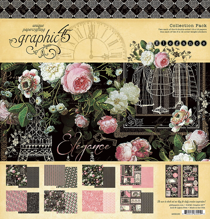 Graphic 45 Elegance Collection Pack