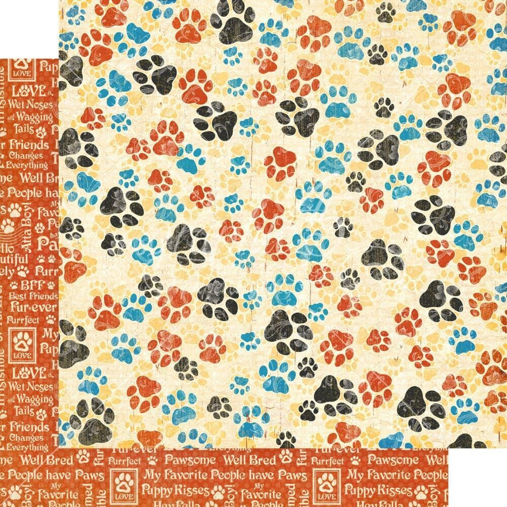 Well Groomed By Graphic 45 Pawsome! 12x12 Sheet