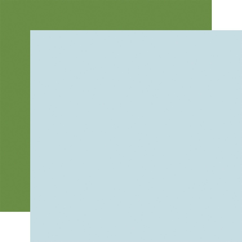 Flora #4 12x12 Sheet Lt. Blue / Green