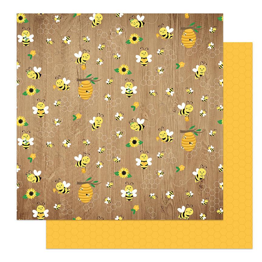 Photoplay Sweet As Honey 12x12 Sheet Buzzing By