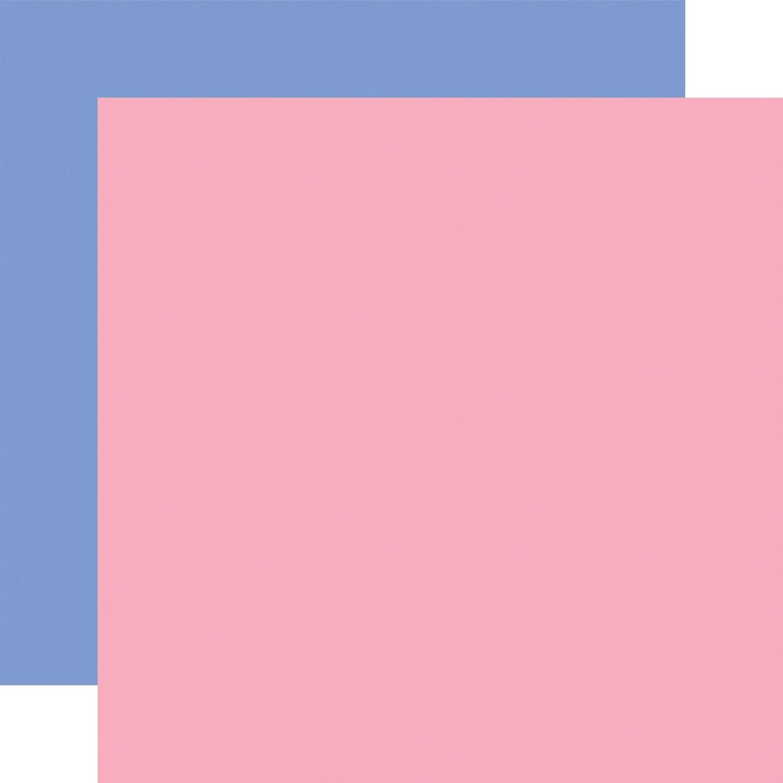 Flora #4 12x12 Sheets Dk. Pink / Blue