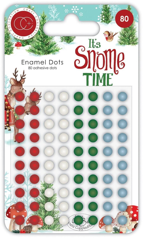 Craft Consortium Enamel Dots Its Snome Time