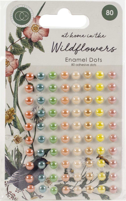 Craft. Consortium Enamel Dots Wildflowers