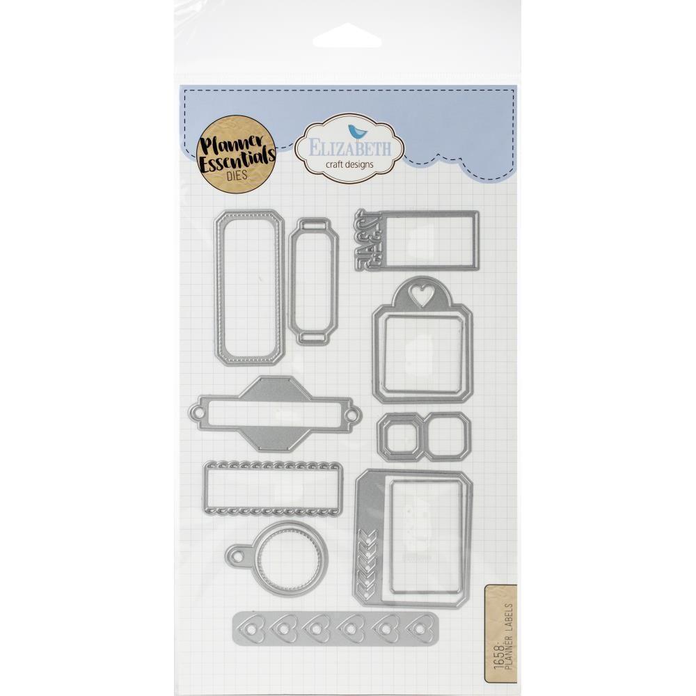 Planner Essentials Planner Lables By Elizabeth Craft Designs