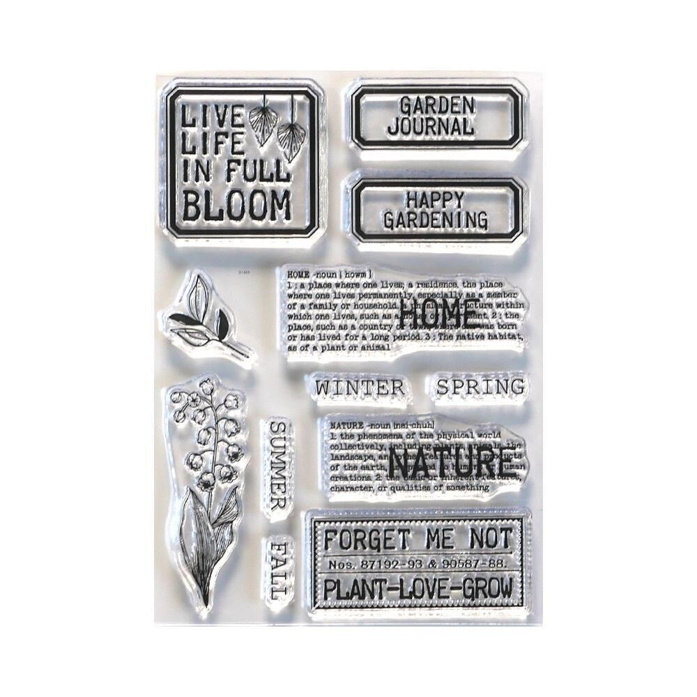 Planner Essentials Home And Nature By Elizabet Craft Designs