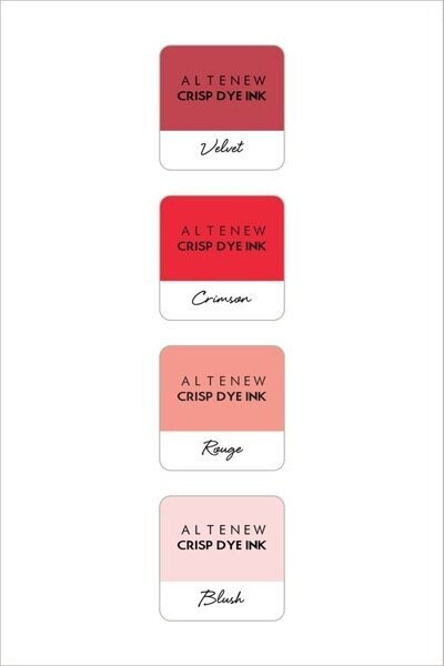 Altenew Crisp Dye Ink - Red Sunset Pack
