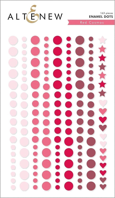 Altenew Enamel Dots - Red Cosmos