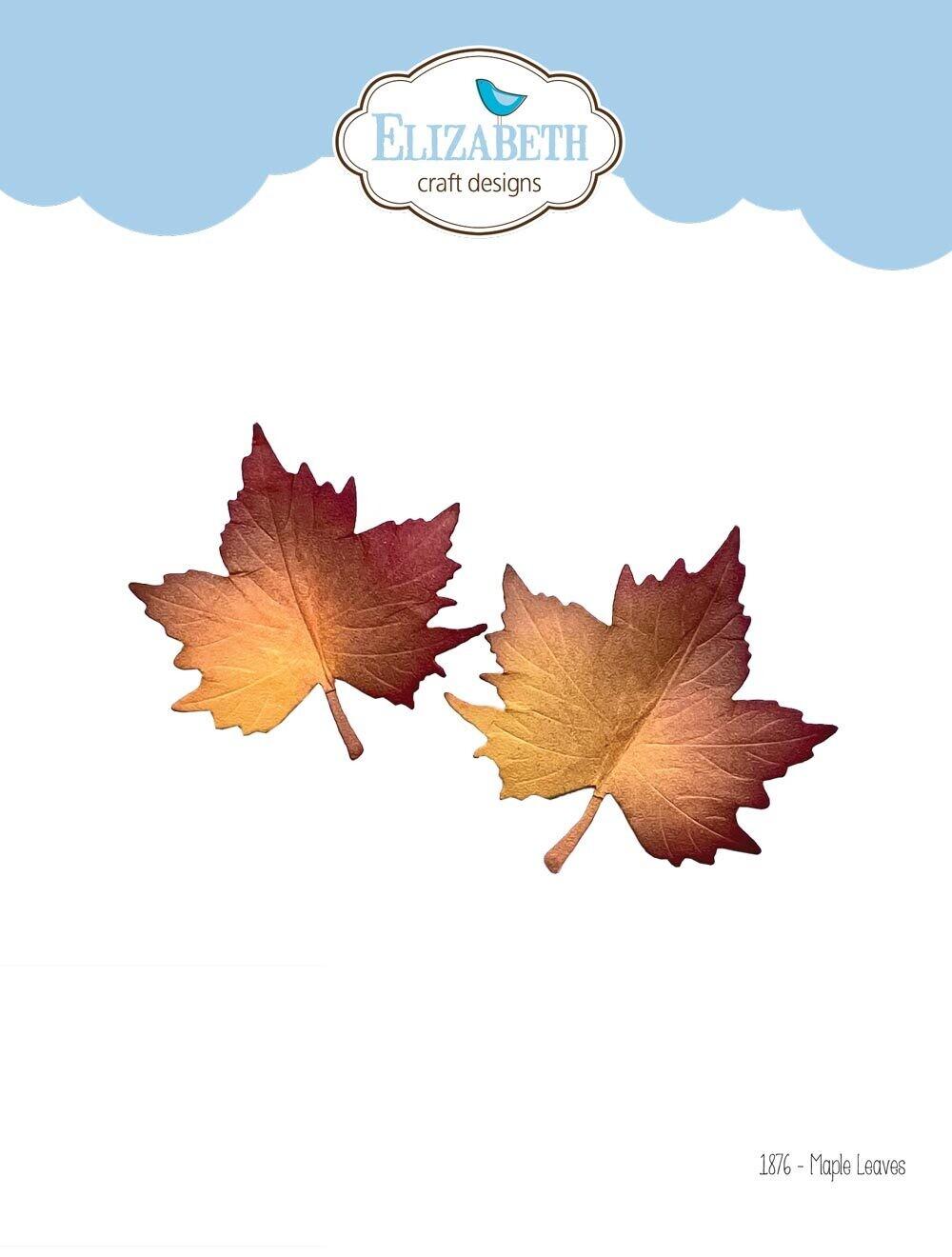 Elizabeth Craft Designs Dies - 1876 Maple Leaves