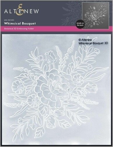 Altenew 3D Embossing Folder - Whimsical Bouquet