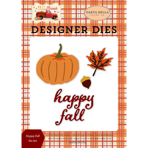 Carta Bella Designer Dies - Happy Fall
