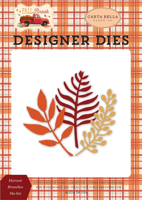 Carts Bella Designer Dies - Harvest Branches
