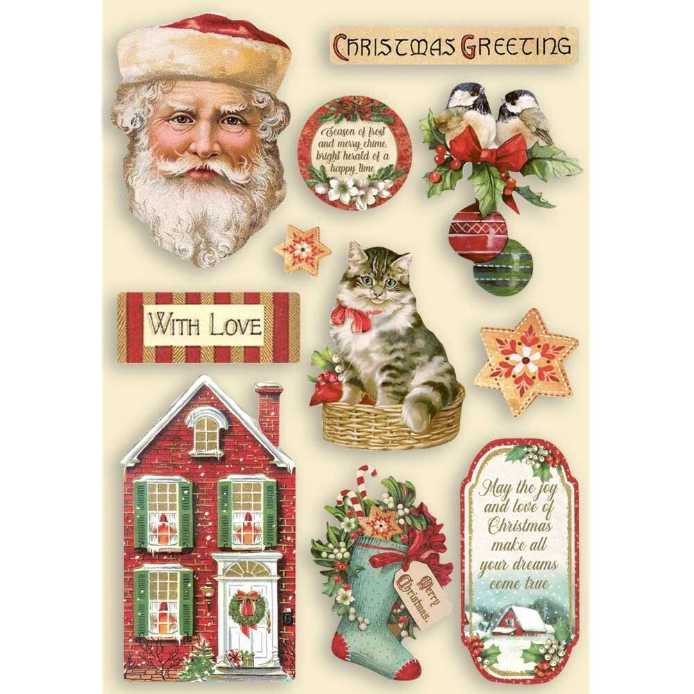 Stamperia Wooden Shapes - Classic Christmas