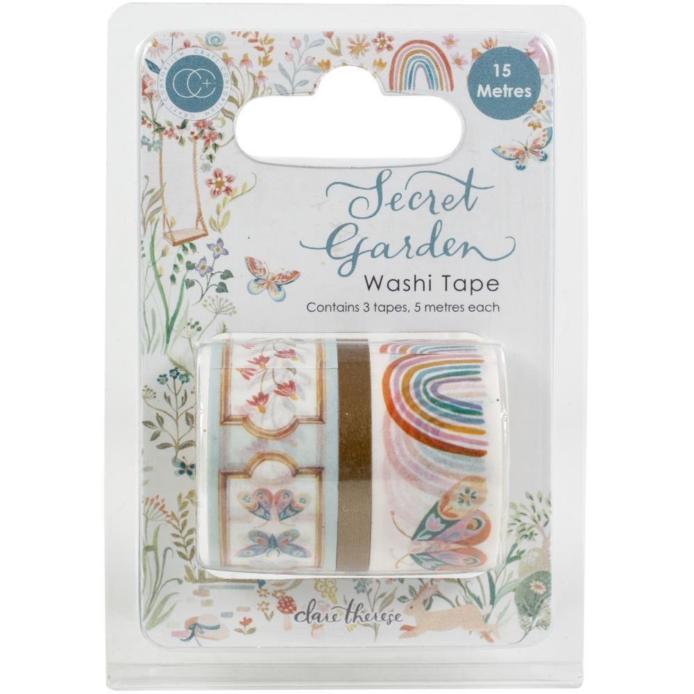 Craft Consortium Secret Garden Washi Tape
