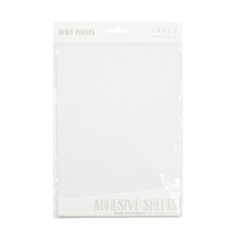 Craft Perfect Double Sided A4 Adhesive Sheets - 5 Pcs.