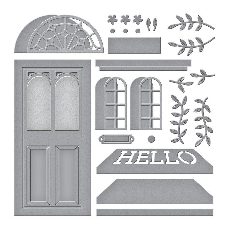 Spellbinders Dies - Open House Door Base