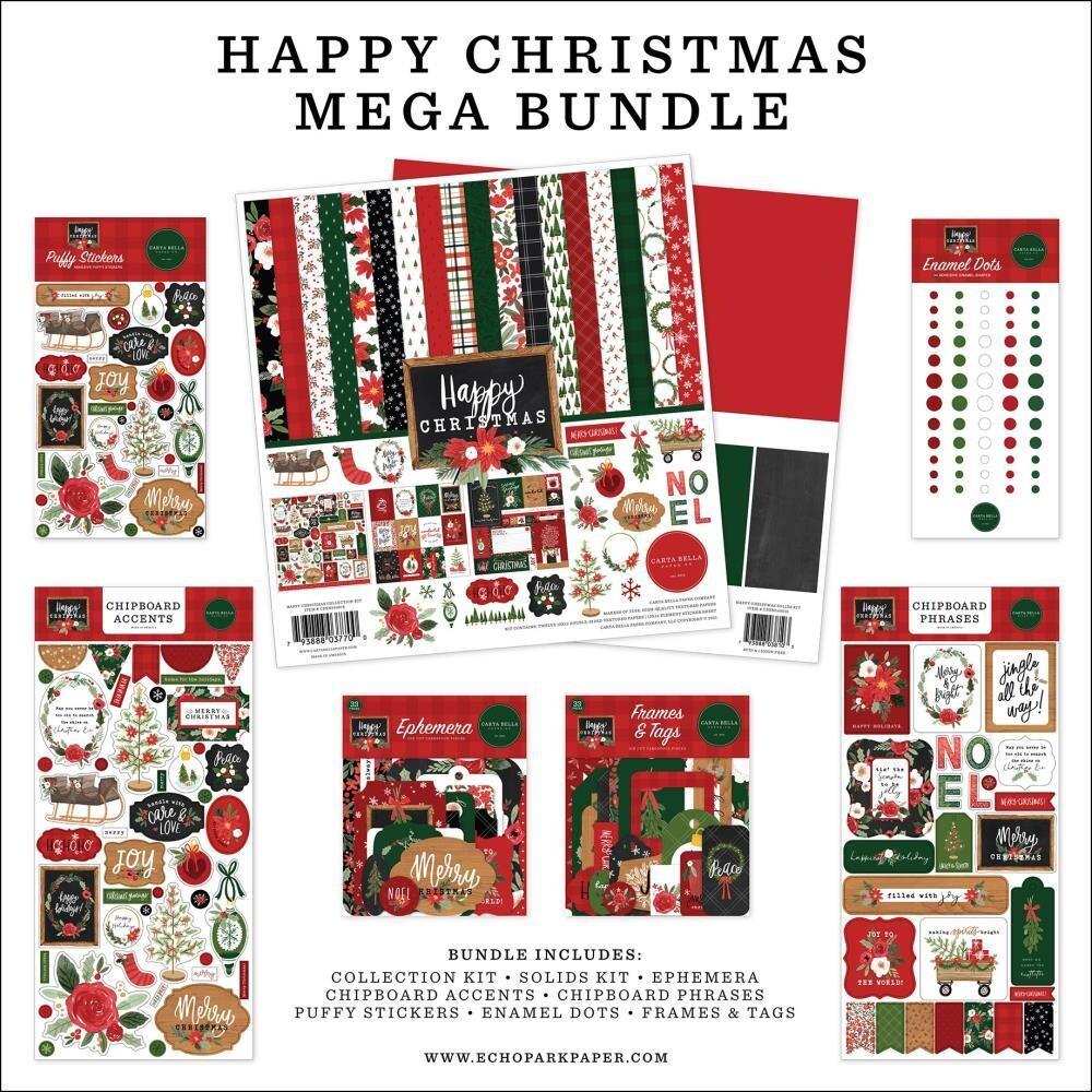 Carta Bella Happy Christmas Mega Bundle