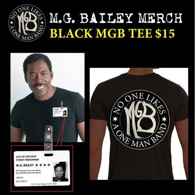 Black MGB Tee