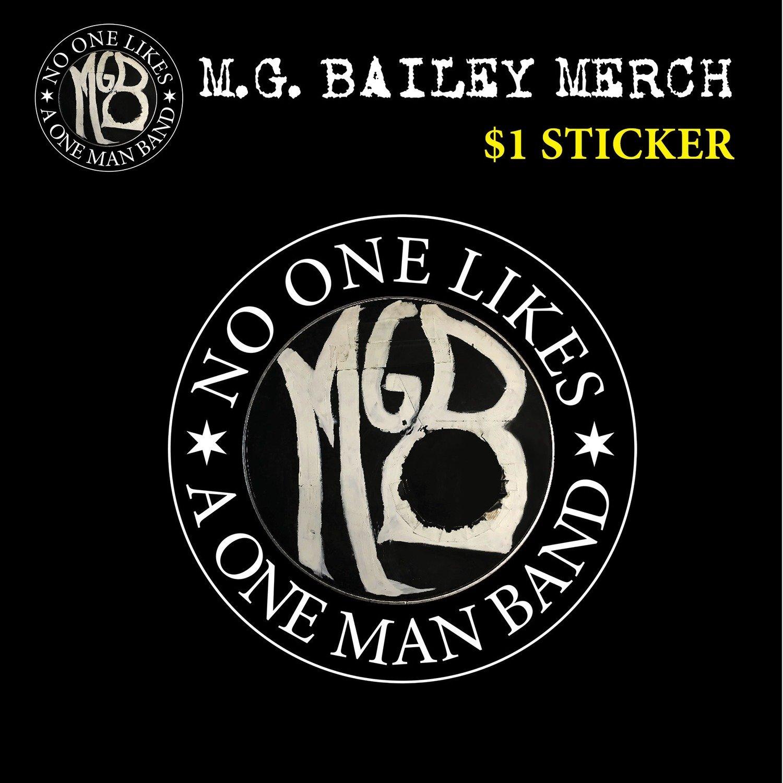 "MGB 3.5"" Vinyl Sticker"