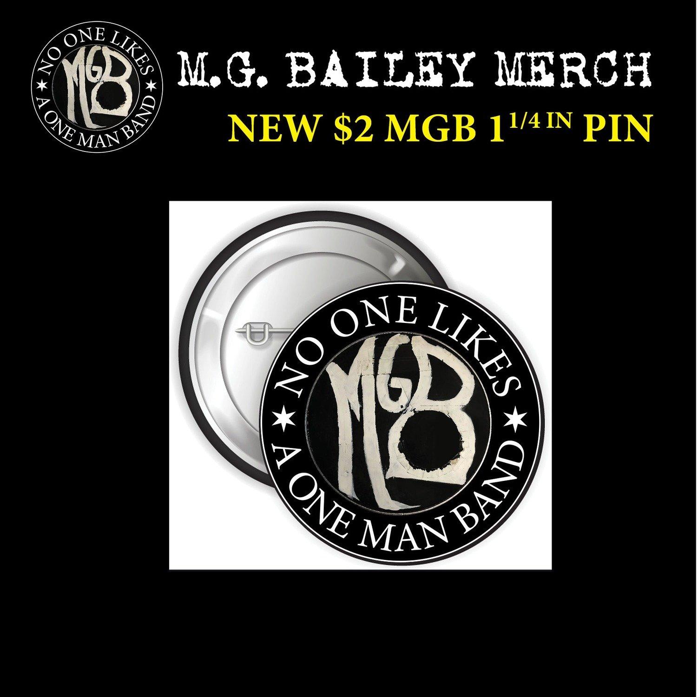"MGB 1 1/4"" Button Pin"