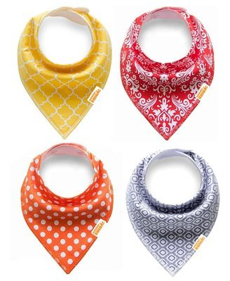 Kawaii Shiba Co. Doggy Bandana Bibs Scarves 4-Pack set