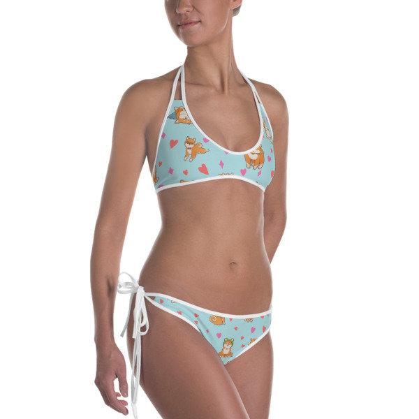 Kawaii Shiba Co. Bikini