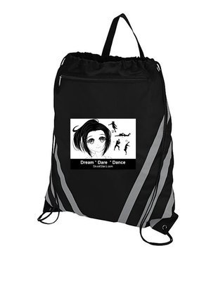 Girl Sports Draw String Gym Bag