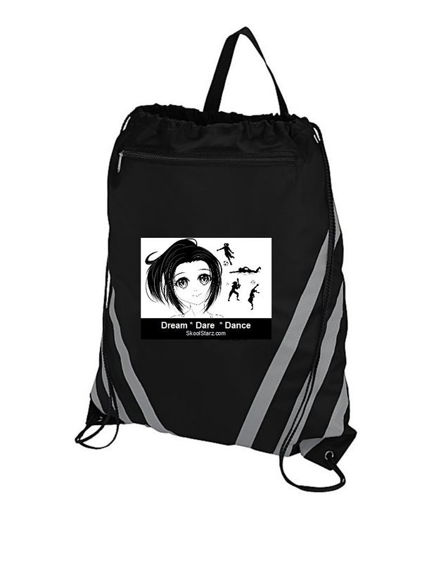 Girl Sports Draw String Gym Bag