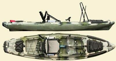 Jackson Big Rig Kayak - Forest Camo