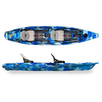 Feelfree Lure II Tandem Kayak w/Overdrive - Ocean Camo