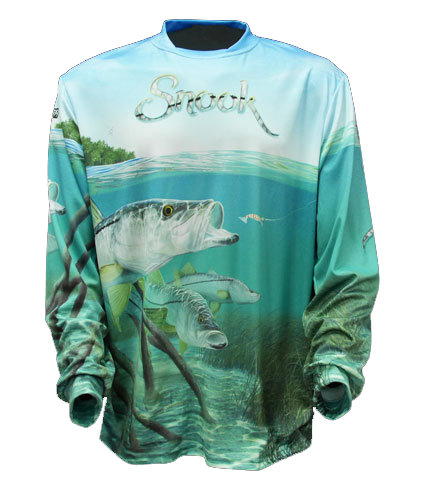 Big Fish Gear Long Sleeve Shirt - Snook
