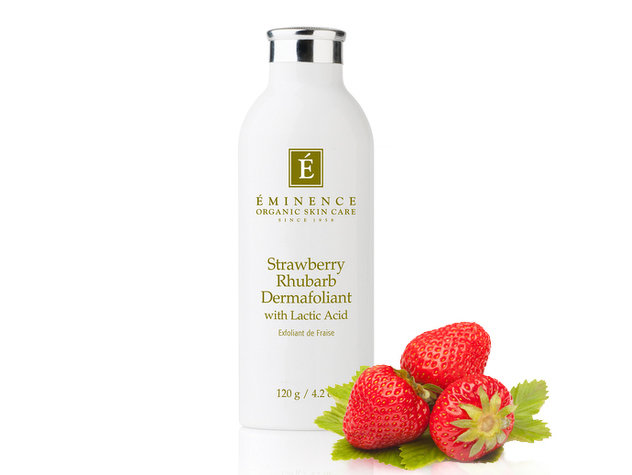 Strawberry Rhubarb Dermafoliant With Lactic Acid