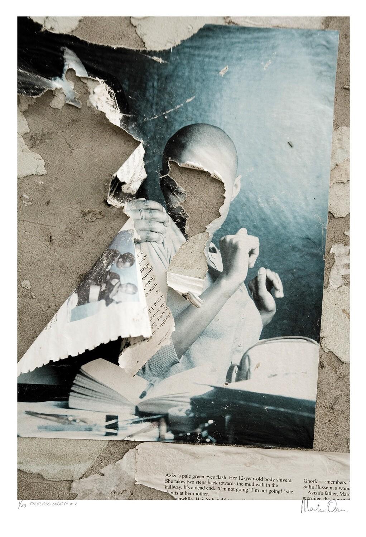 Faceless Society No.1 | Ed 20 | Martin Osner