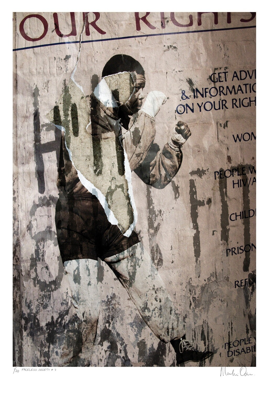Faceless Society No.8 | Ed 20 | Martin Osner