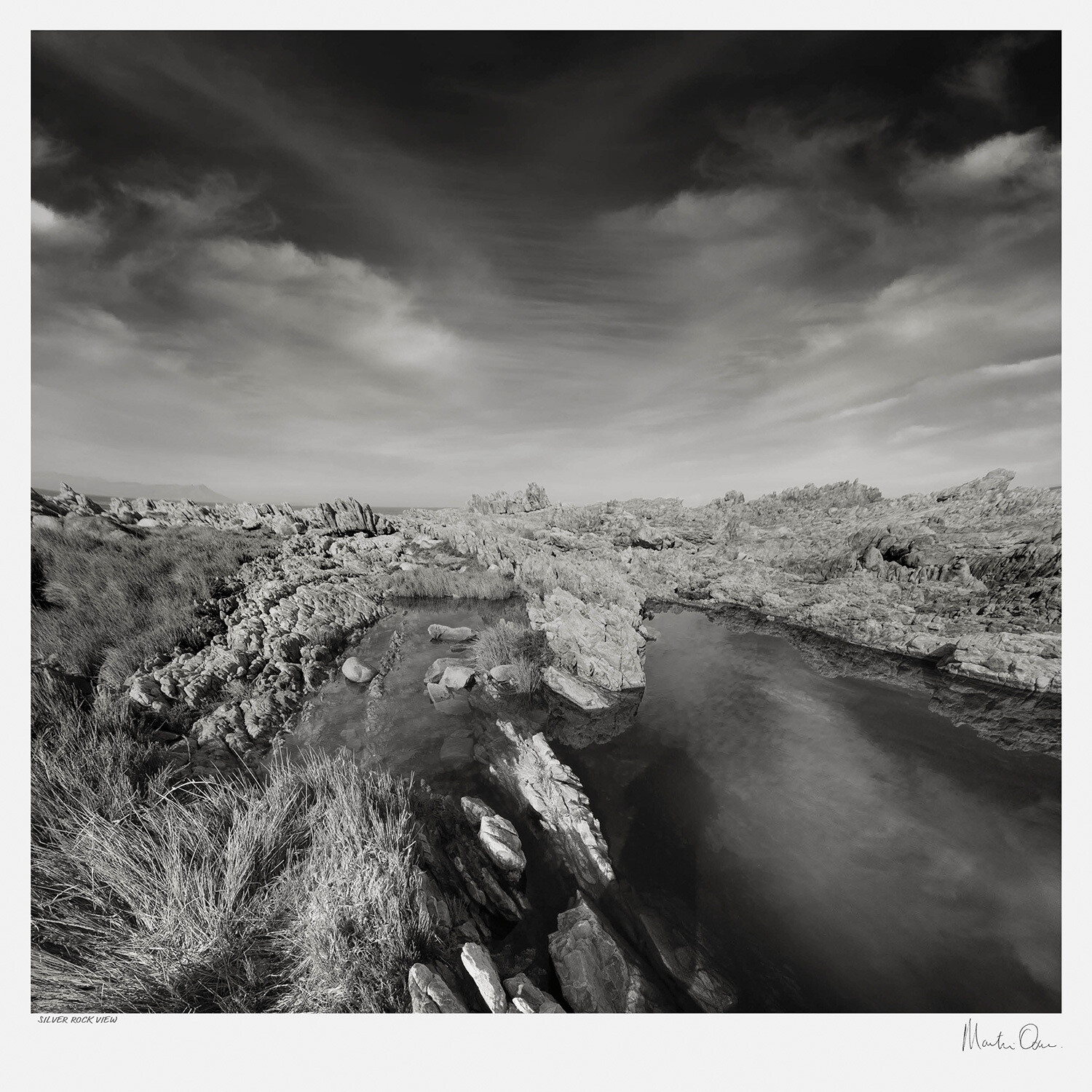 Classic Black and White | Silver River View | Martin Osner