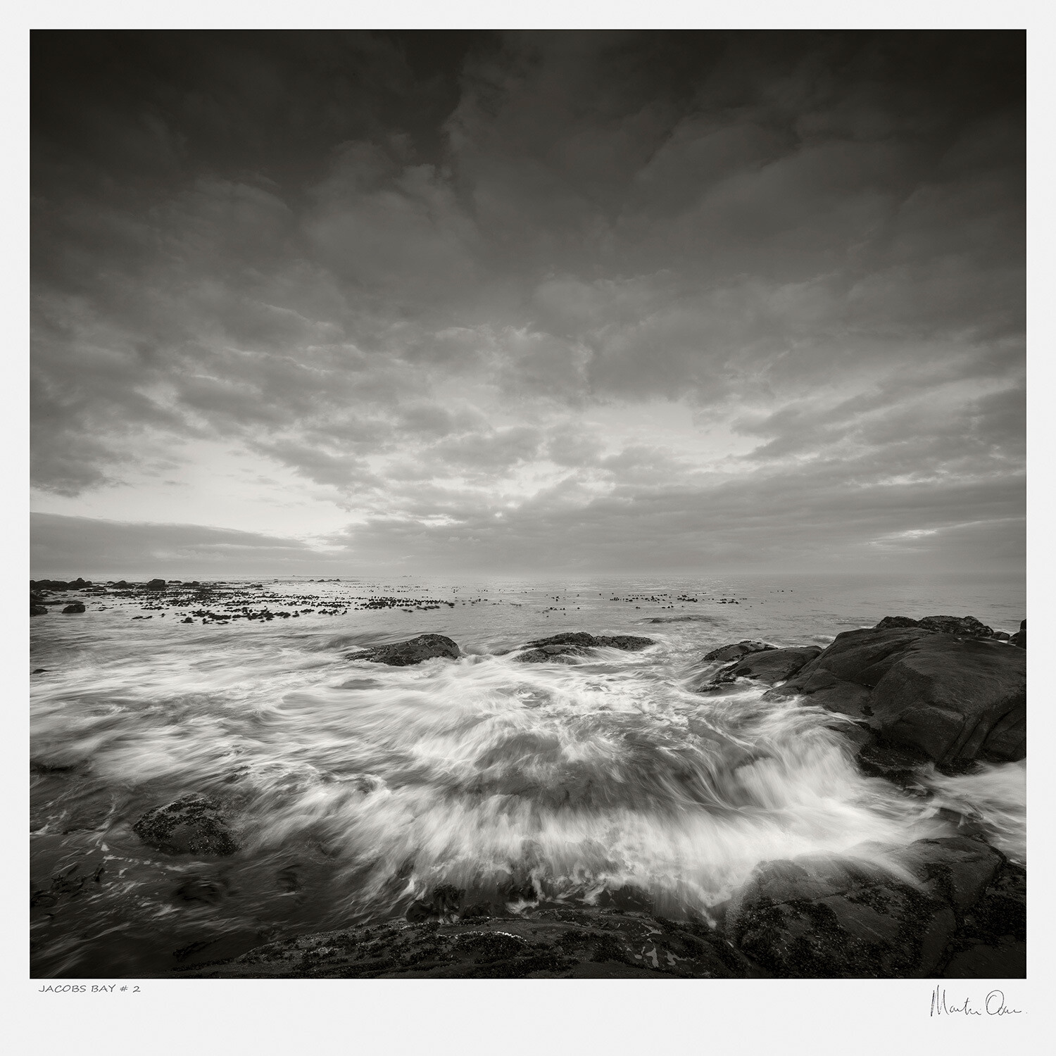 Classic Black and White | Jacobs Bay No.2 | Martin Osner