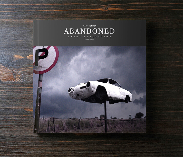 Coffee Table Book - Abandoned Collection
