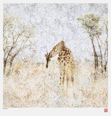African Crystal | Giraffe II | Fumi Hirai