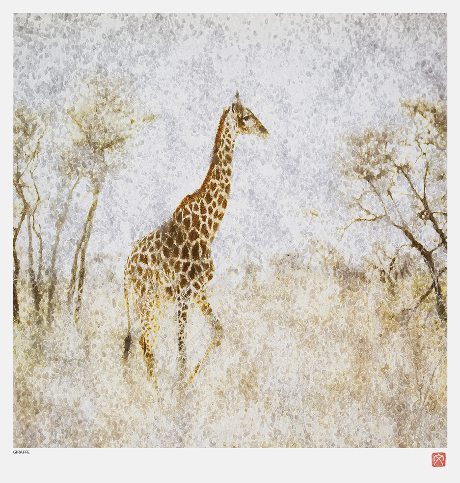 African Crystal | Giraffe | Fumi Hirai